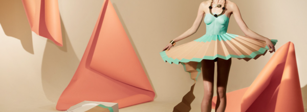 Matthew Brodie's Paper Dress